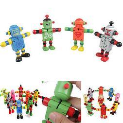 1 Pcs Wooden Robot Learning & Educational Kids Early Learnin