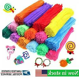 100pcs diy chenille stems pipe cleaners 5mm