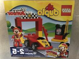 10843 LEGO DUPLO DISNEY JUNIOR Mickey Racer Kids NEW - SEALE