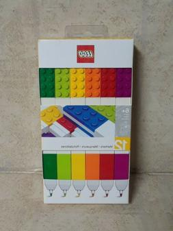 LEGO 12 Pack Markers age 6+ 6444