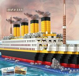 1860 Pcs TITANIC Cruise Ship Building Blocks 3D Legoings Mod