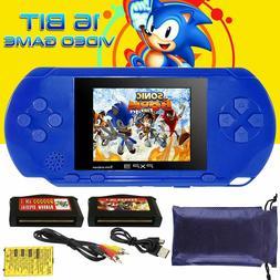 2.8'' 16Bit Handheld Slim  PVP PXP3 PSP Game Console 2 Games