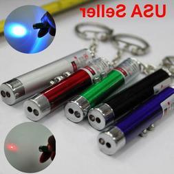 2 In1 Mini Red Laser Pointer Pen With White LED Light Child