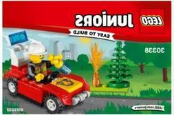 LEGO ~ 30338 ~ JUNIORS ~ FIRE CAR ~ NEW & SEALED ~ FREE SHIP