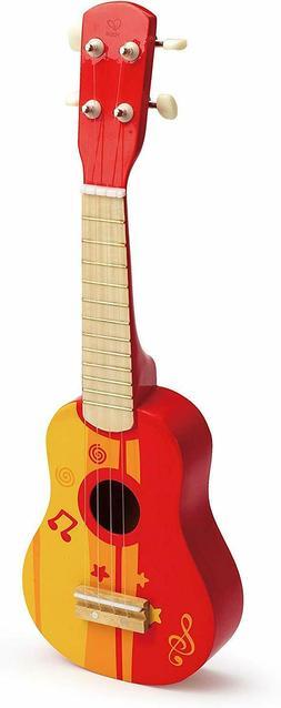 Hape 4 String Wooden Ukulele Toy Children Kids Tuneable Musi