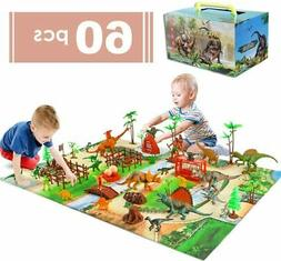 Kids Dinosaur Toys Education Learning Dinosaur Play Set