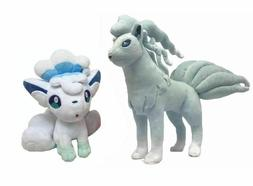 "7""~9"" Alola Ninetales + Vulpix Stuffe Plush Doll Figure Plus"