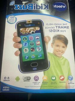 VTech 80-169500 KidiBuzz Smart Device Toy Phone for Kids -Bl