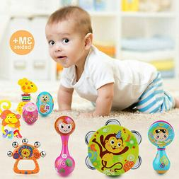 8pc Baby Children Drum Musical Instruments Percussion Toys B