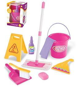 Little Helper Pretend Play Kids Toy Cleaning Supplies Set w/