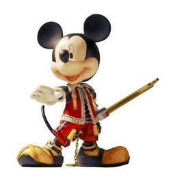 Action Figure Kingdom Hearts II 2 King Mickey Mouse 5 7/8in
