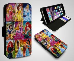 All Disney Princesses Collage Kids Toy Ariel Belle Leather F