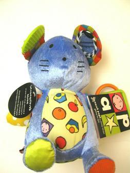 Amazing Baby book series Developmental mouse toy plush Infan