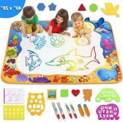 Toyk Aqua Magic Mat - Kids Painting Writing Doodle Board Toy