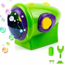 Toysery Automatic Bubble Machine for Kids Thousands of Big B