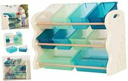 B. spaces by Battat – Totes Tidy Toy Organizer – Kids Fu