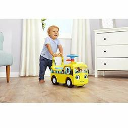 Little Tikes Baby Bum Wheels On Bus Scoot & Push Ride On Tod