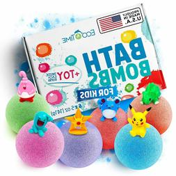 HANDMADE Bath Bombs for Kids with SURPRISE TOYS Inside -100%
