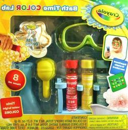 Crayola Bath Time Color Lab Kids Bathroom Toys Bubble Bath F