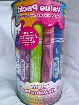 Crayola Bath Value Pack Bathtub Paints NEW