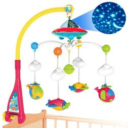 Baby Musical Bed Bell Kid Crib Musical Mobile Cot Music Box