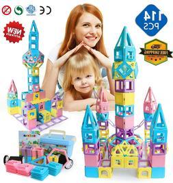 Toys For Boys Girls Children Magnet Blocks Set for 3 4 5 6 7
