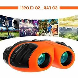 Binoculars For Kids, Outdoor Toys 4-8 Year Old Boys, Compact