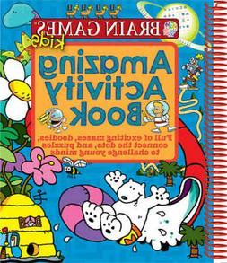 Brain Games Kids Awesome Activity Book - Paperback - GOOD