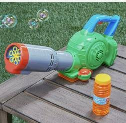 Bubble Leaf Blower Machine LawnToy Kids Outdoor NEW Ages 3+