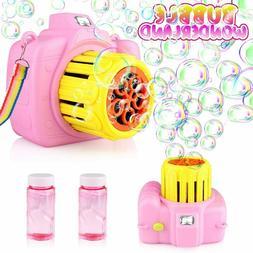 Betheaces Bubble Machine Toys for Kids Automatic Bubble Make