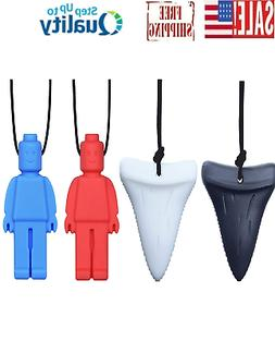 Chew Necklace  for Autistic, ADHD, SPD, Oral Motor Children,