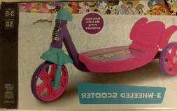 Child Ages 3-5 3-Wheeled Scooter Dynacraft My Little Pony Op
