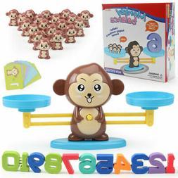 Children Kids Monkey Balance Cool Math Game Fun Educational