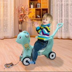 Children Rocking Horse Kids Ride on Toy Walking Baby Childre