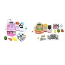 Childrens Kids Toy Supermarket Shop Grocery Pretend Cash Reg
