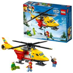 LEGO City Ambulance Helicopter 60179 Building Kit  Kids Toy