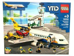 🔥 LEGO CITY  Pasenger  Airport 60262  Set for Kids 669 Pi
