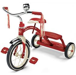 """Classic Red Dual Deck Tricycle 12"""" RED"""