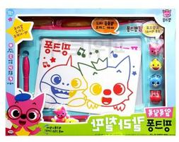 Pinkfong Color Board Stamp Art Toy Practice Writing Number L