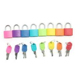 Colorful Montessori Locks Keys Set Children Early Learning E