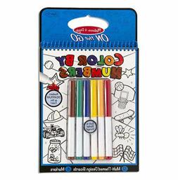 Melissa & Doug Color by Numbers Coloring Book - Blue