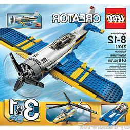 "LEGO CREATOR 31011 ""3 in 1"" Aviation Adventures - 618 pc set"