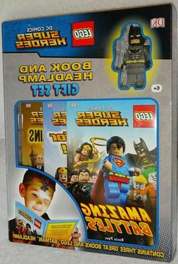 Lego DC Super Heroes Gift Set: Includes 3 Books, Batman Mini