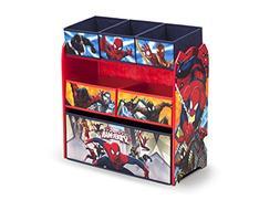 Delta Children Marvel Spider-Man Multi-Bin Toy Organizer