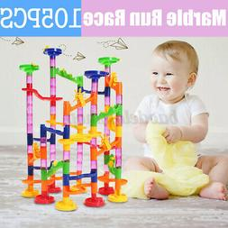 developmental kids baby toys track ball building