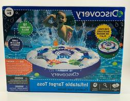 Discovery Inflatable Target Toss Floating Pool Game + 10 Bal