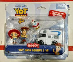 Disney TOY STORY 4 MINIS RV And Friends Road Trip SPECIAL ED