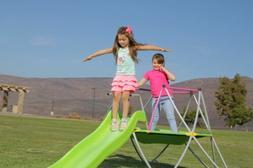 Dome Climber with Slide SWSC-001 Kids Age 3 - 10 Backyard Pa
