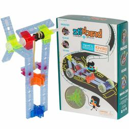 Brackitz Driver: 43 Piece Set - Imagination Set and Vehicle