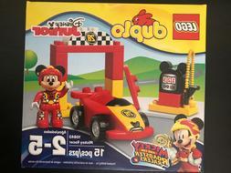 LEGO DUPLO DISNEY JUNIOR 10843 Mickey Racer NISB For Kids Ag